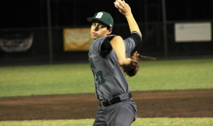 Marc Perez threw a scoreless inning for the Sabres.