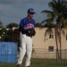 David Green stares in for the sign against North Miami Beach on Tuesday afternoon.