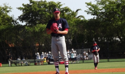 Michael Rodriguez and the American Patriots defeat the Gulliver Raiders 5-4 Monday afternoon.