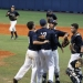 Columbus players celebrate the victory