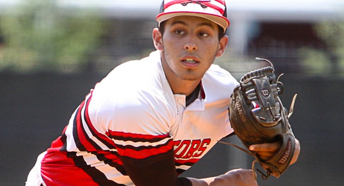 Victors pitcher Chris Otero threw a one-hitter on Thursday in a 10-0 win over Lake Worth Christian.